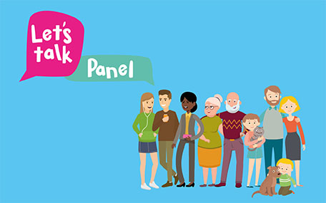 Let's Talk Panel 456 x 285px